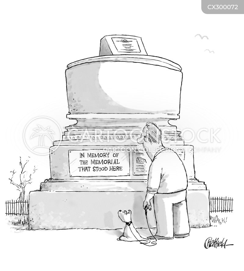 war memorials cartoon