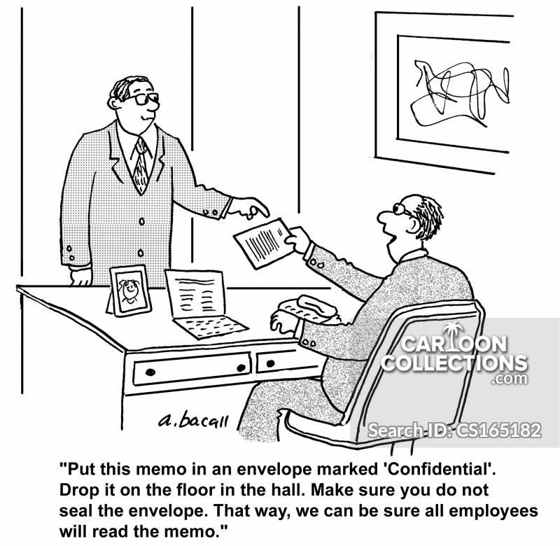 internal communications cartoon