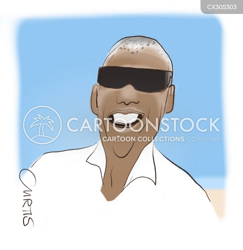 blindness cartoon