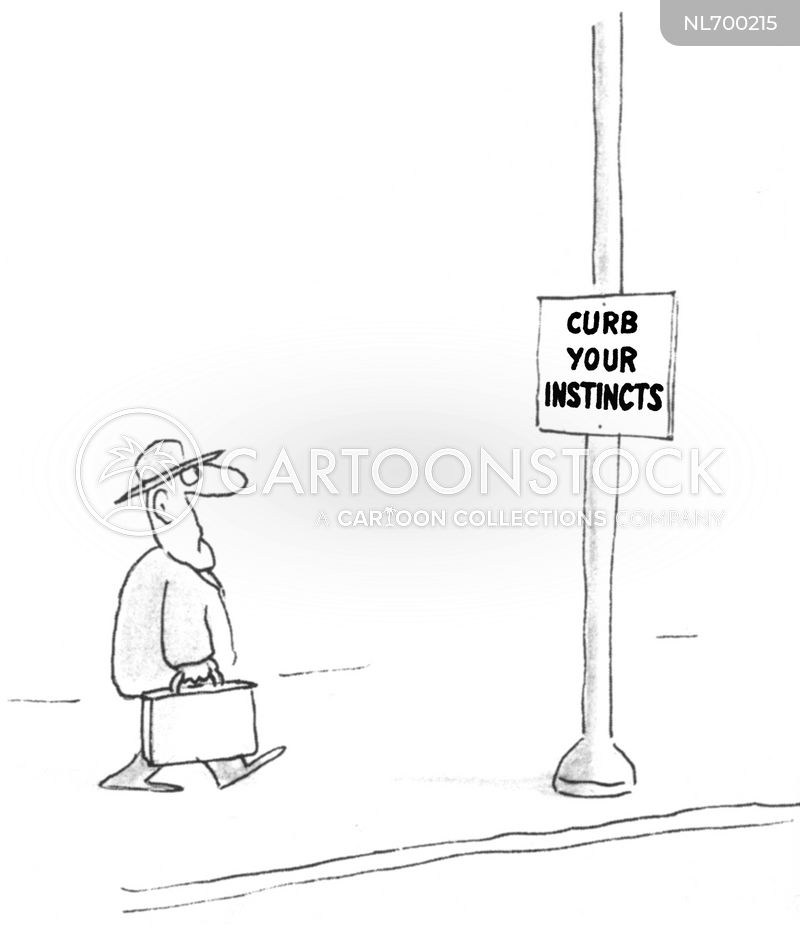 street scene cartoon