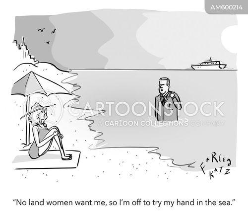 single people cartoon