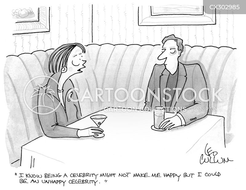 famous person cartoon