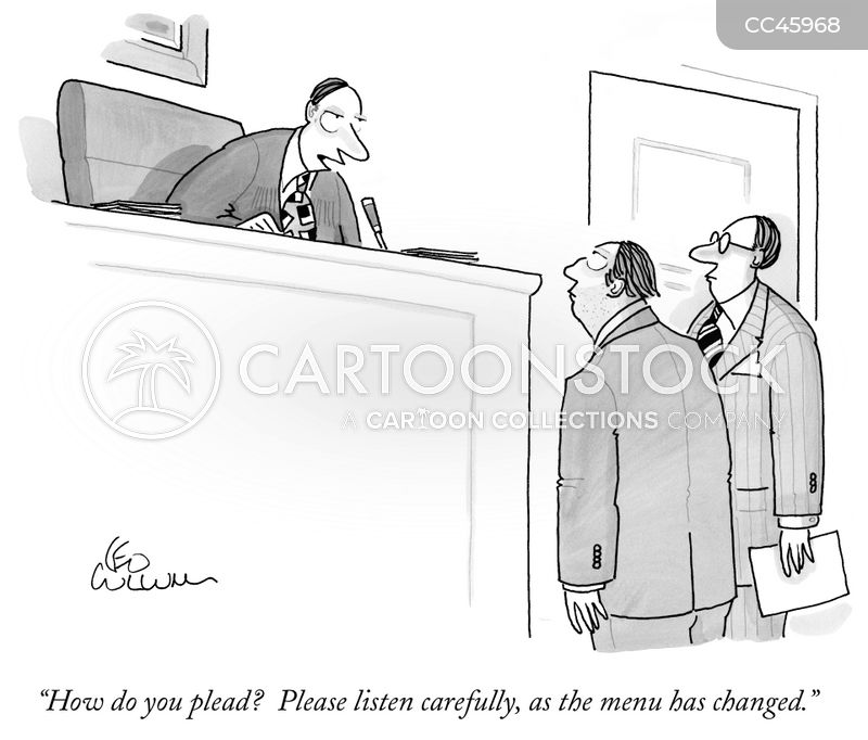 legal process cartoon