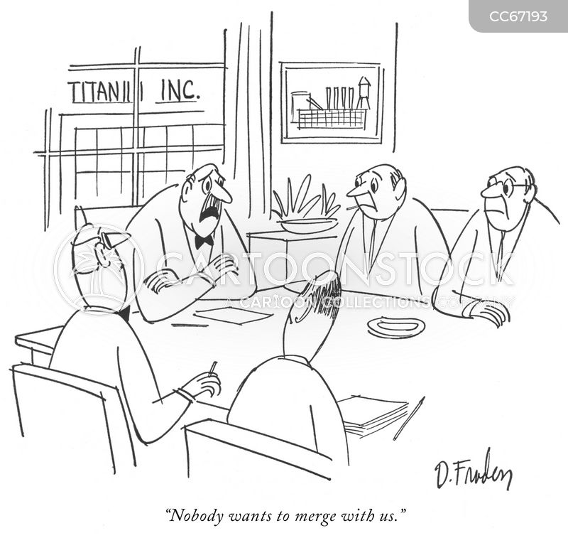 synergy cartoon