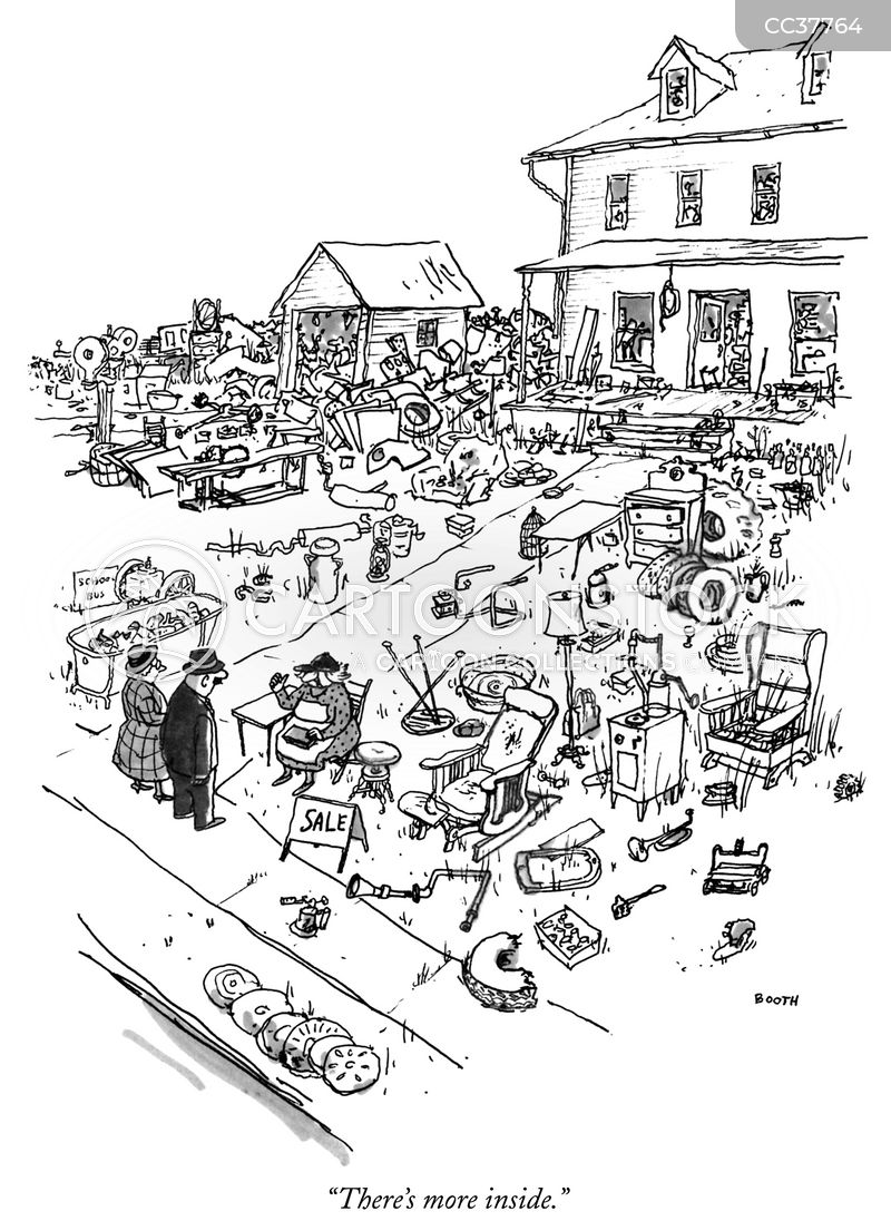 hoarders cartoon