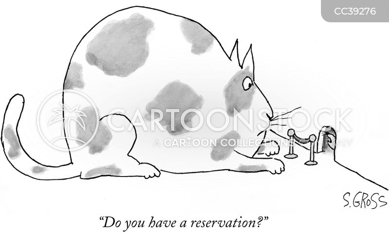 reserved cartoon