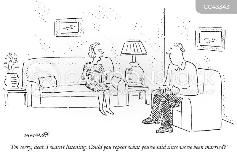 conversation cartoon