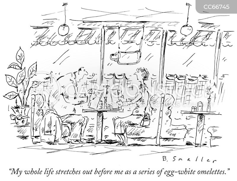 mid life crises cartoon