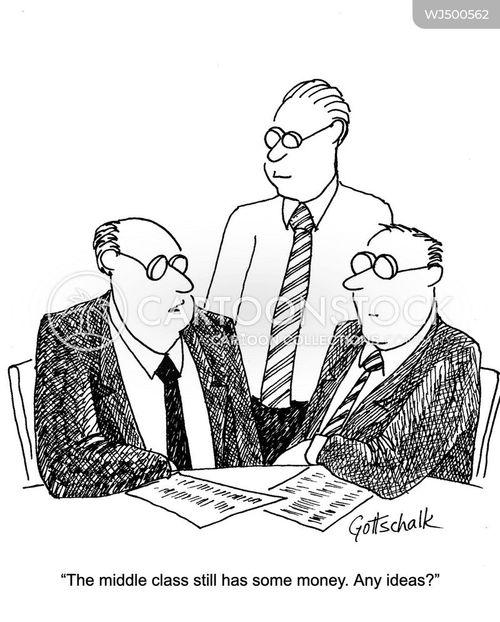 wealthy elite cartoon