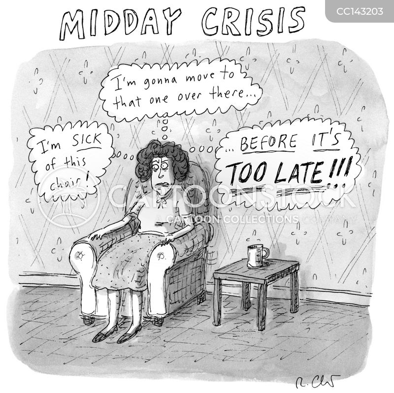 social anxieties cartoon