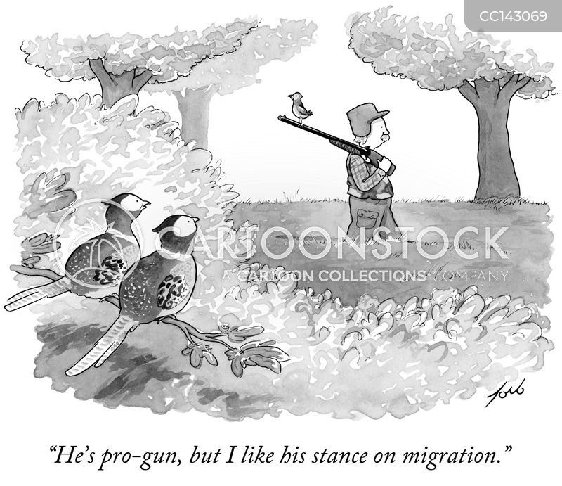 migration cartoon