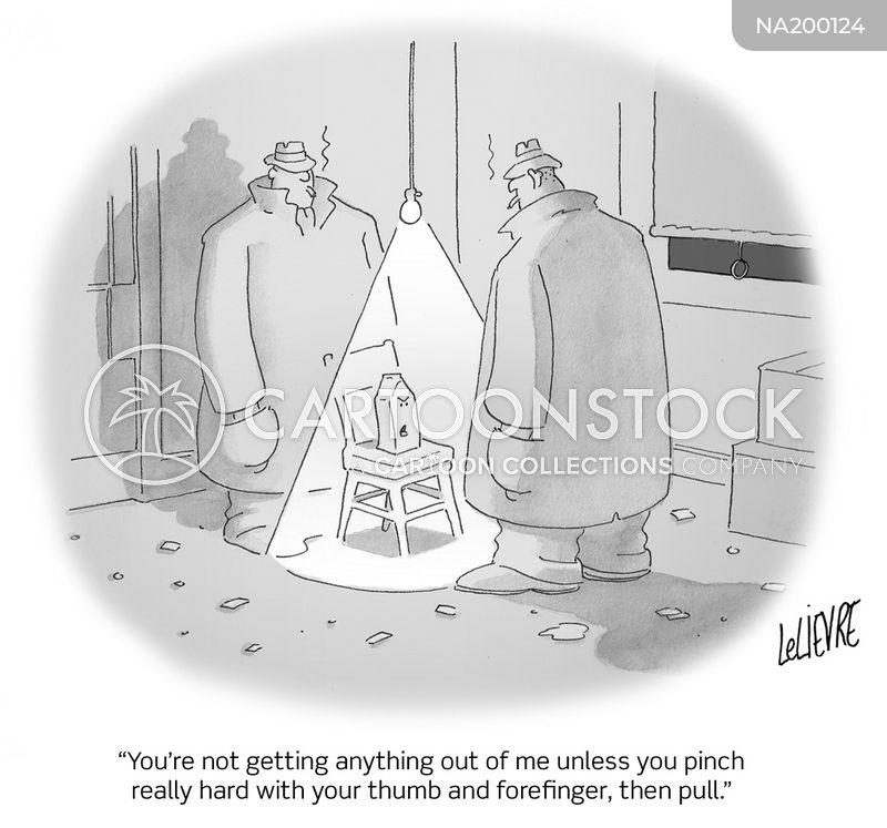 interrogations cartoon