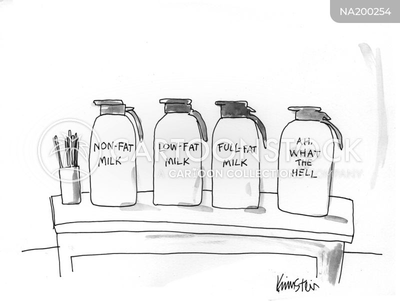 milk cartoon