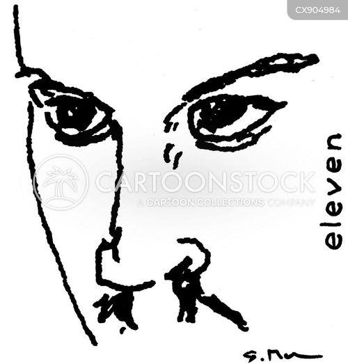 eleven cartoon