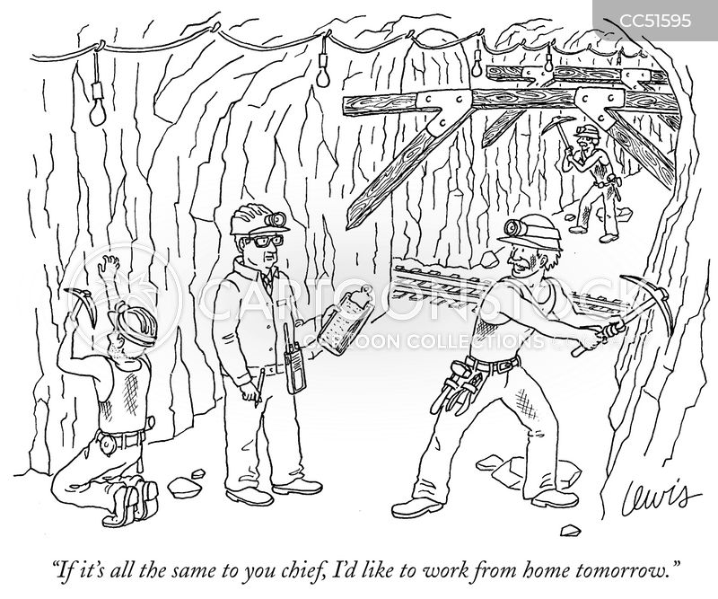 miner cartoon