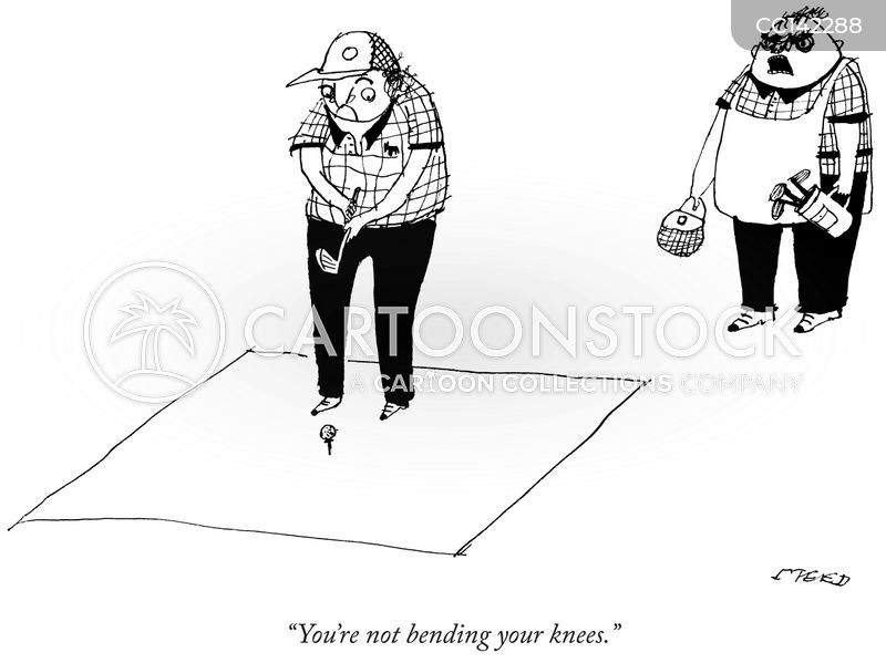 Putt cartoon