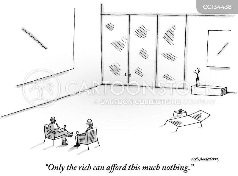 wealthy people cartoon