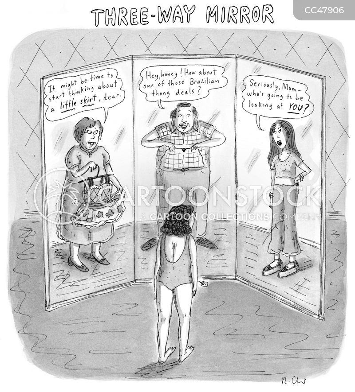 fashion advice cartoon