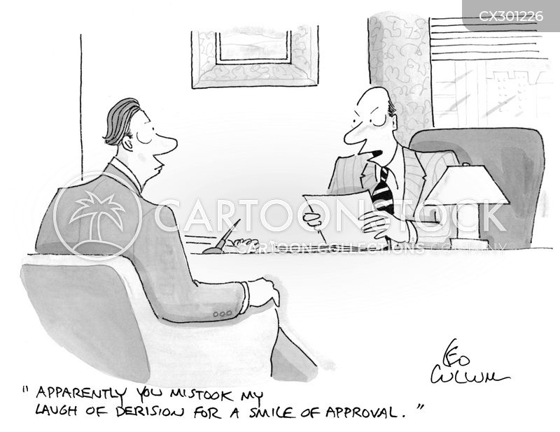 disapproving cartoon