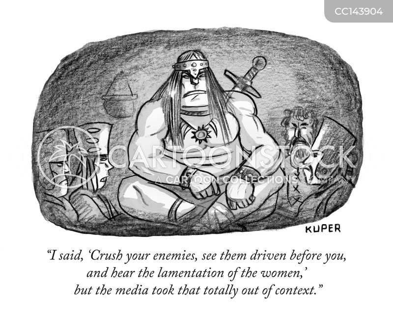 barbarians cartoon