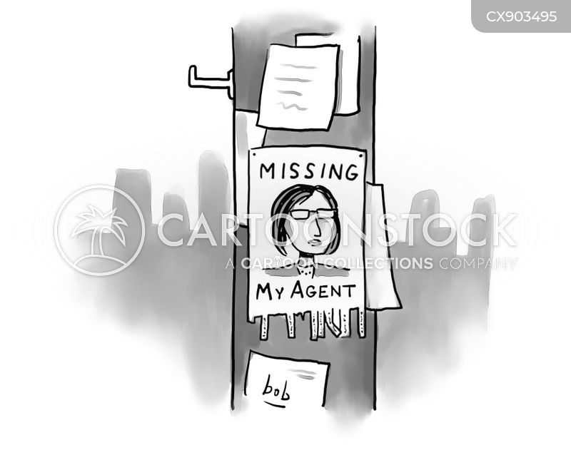 missing person poster cartoon