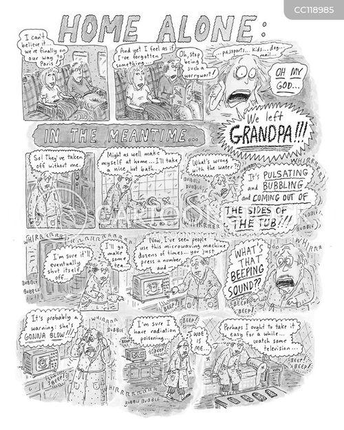 confuses cartoon