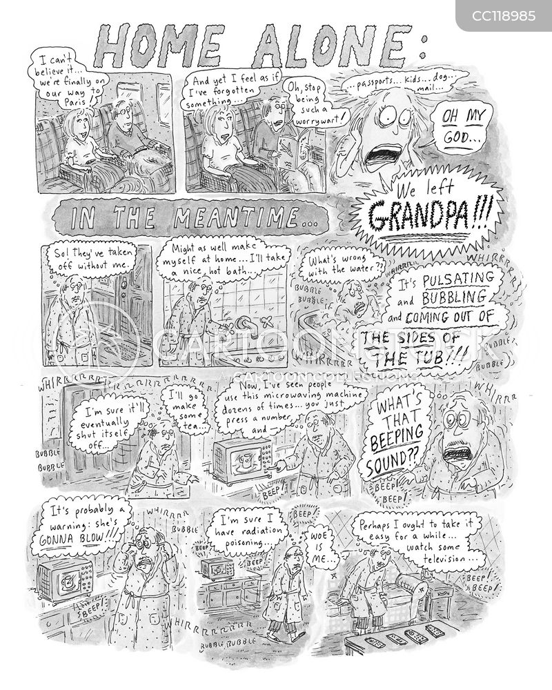 overwhelmed cartoon
