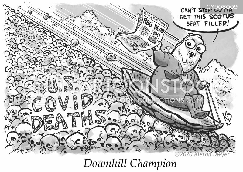 mourns cartoon