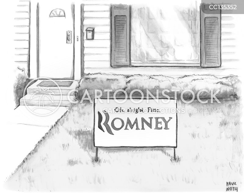 republican candidate cartoon