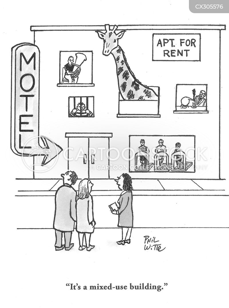 house hunting cartoon
