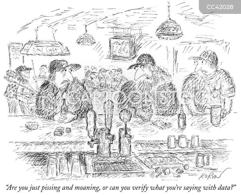 beers cartoon