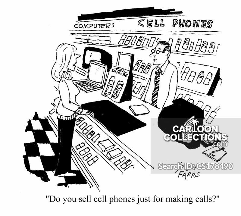 complex phones cartoon