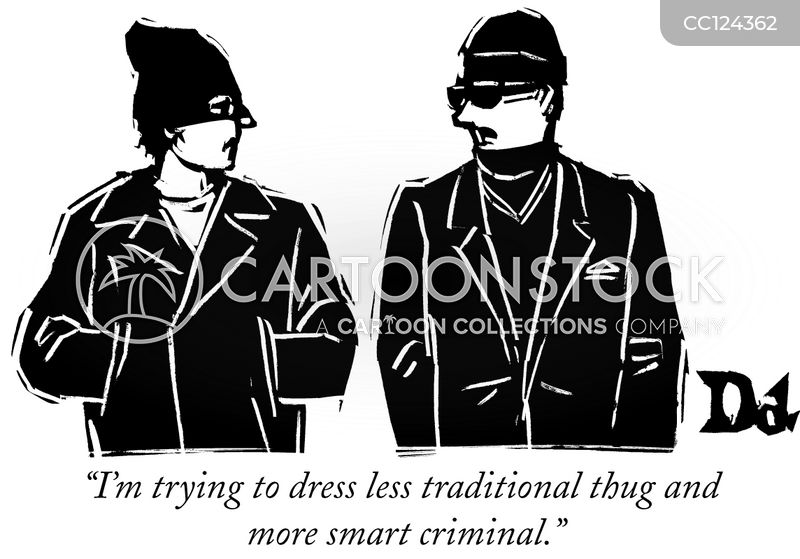 thug cartoon
