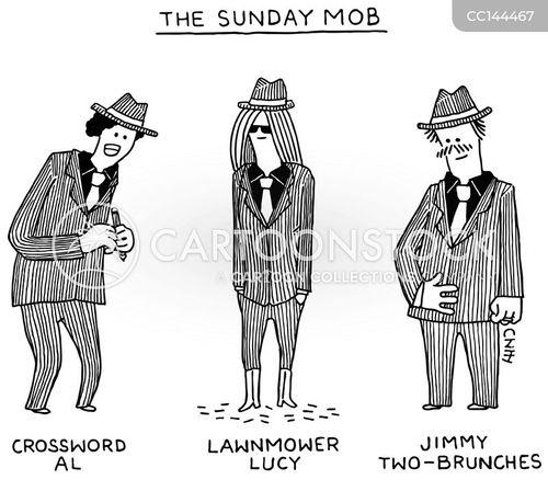 crosswords cartoon
