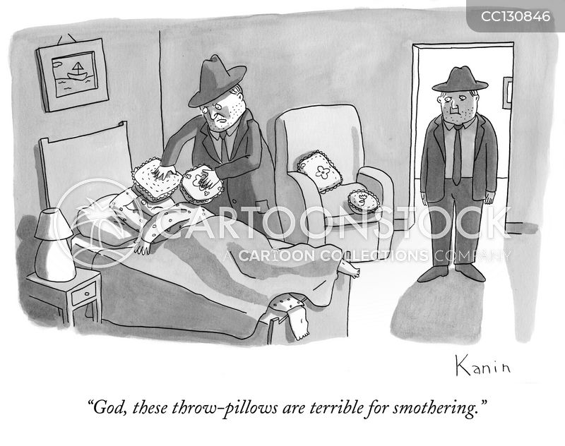 murdering cartoon