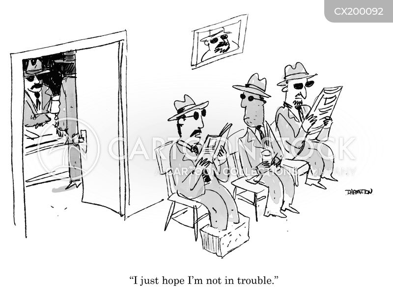 organised crime cartoon