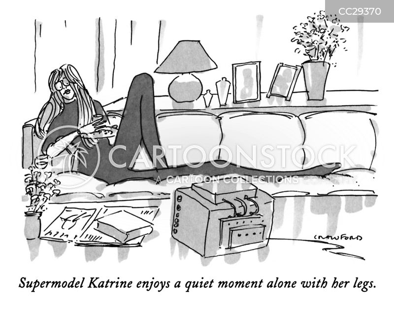 resting cartoon