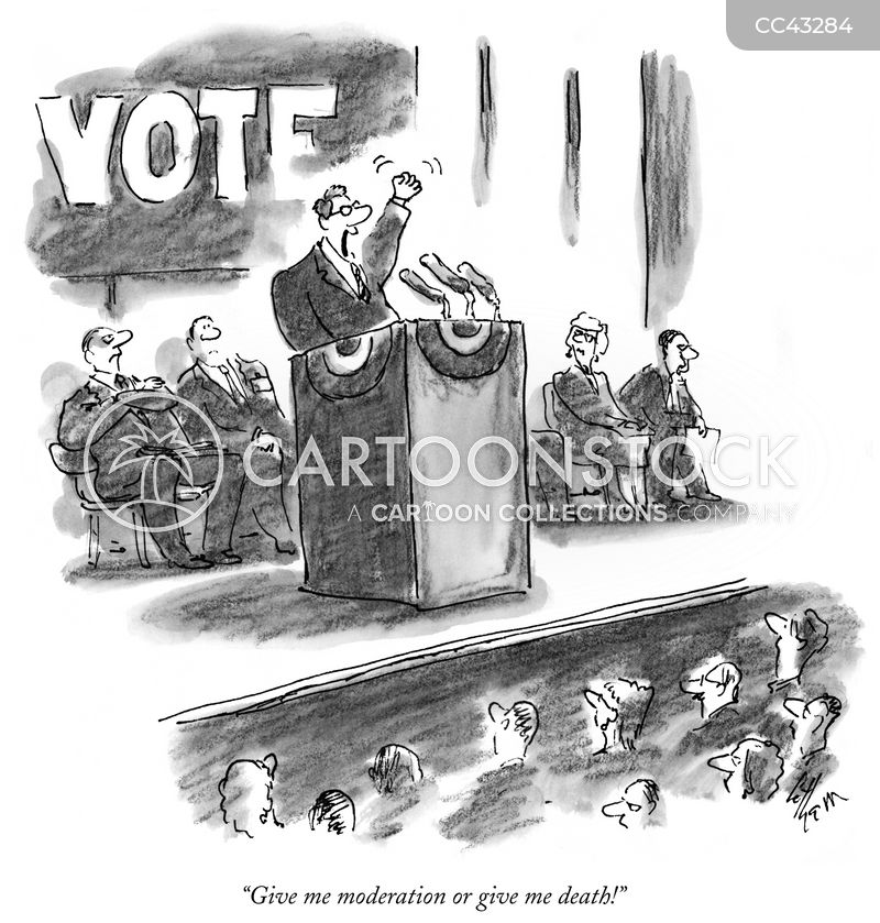 Politician cartoon