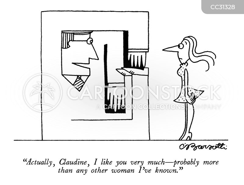 flirts cartoon