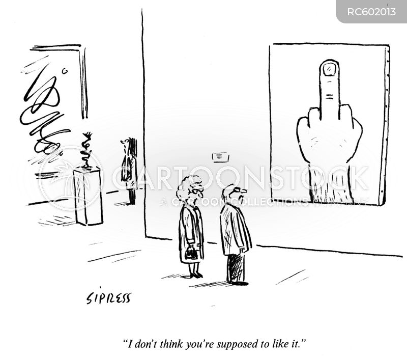 gesture cartoon