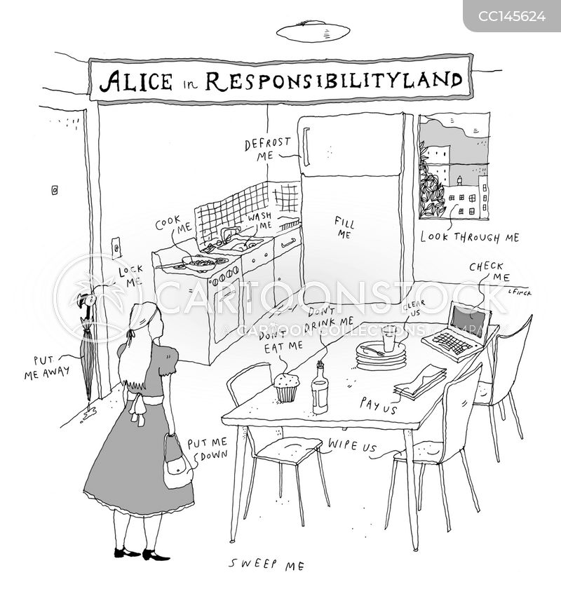 responsibility cartoon