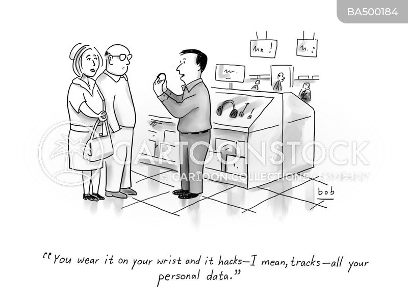 data tracking cartoon