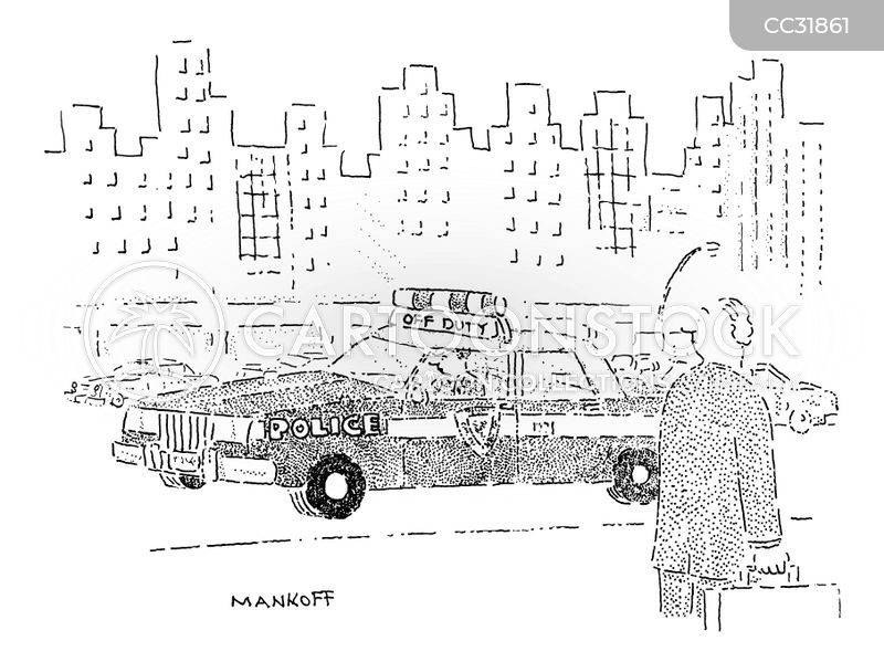 Cab Driver cartoon