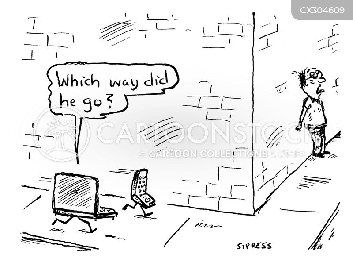 screen addiction cartoon