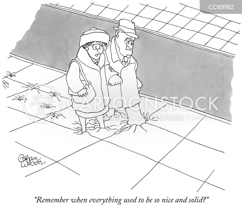 old people cartoon