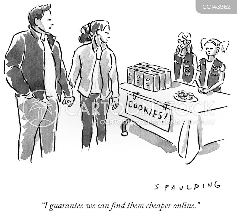 lower prices cartoon
