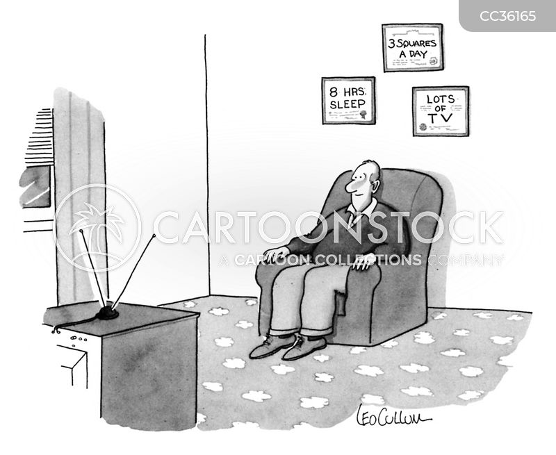screen addict cartoon