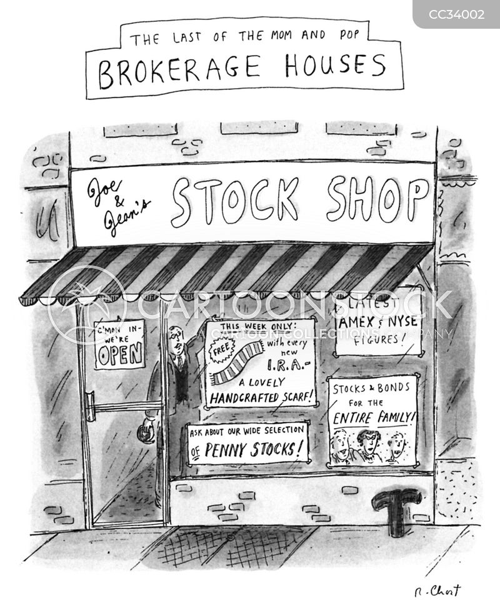 brokerage cartoon
