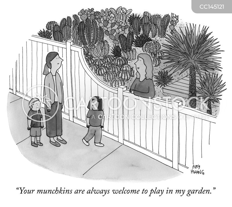 neighbour cartoon