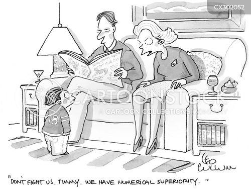 numerical superiority cartoon